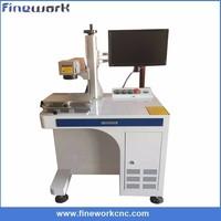 Popular portable desktop fiber laser metal marking machine price for business