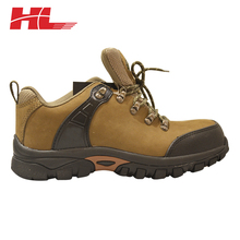 professional customized cow leather genuine leather safety shoes price