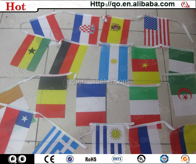 2015 newest custom competitive price blank car flags wholesale
