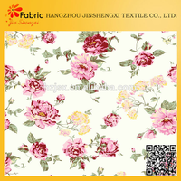 Y2011100 fashion 100% cotton rose printed home textile floral pattern fabric