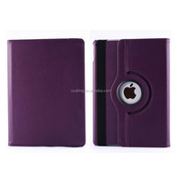 Factory Wholesale Plain Colored Rotating Leather Case For iPad Mini 2/3