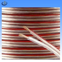 transparent 2*2.5mm2 multi strand copper conductor auto electrical wire and cable