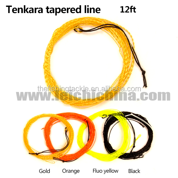 All different color avaliable tenkara furled leader