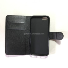 Multi-function Wallet Case For iPhone 5 5G 5S SE Case with 3 Card Holders, pouch wallet design case For iPhone 5 5G 5S SE