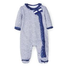 Cotton Ruffle Lace Long Sleeve Long Leg Baby Boys Romper