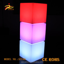 60CM Cubes Colorful Useful Chairs&Tables Lighting Furniture LED Cube