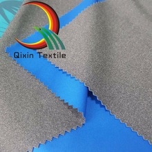 3 layers Polyester cation knited fabric laminated with TPU film and interlock waterproof fabric for leisure wear/ jacket