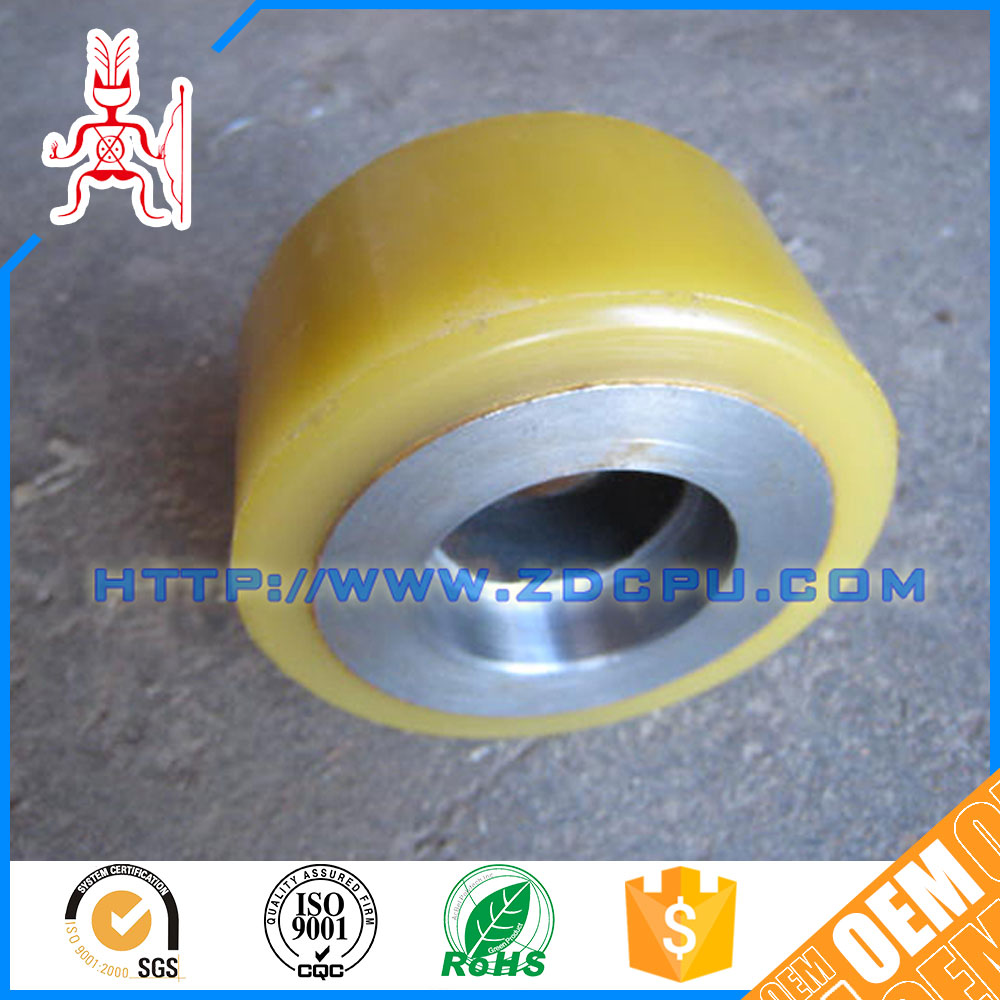 OEM colored cheap anti-fatigue pulley wheel for sale