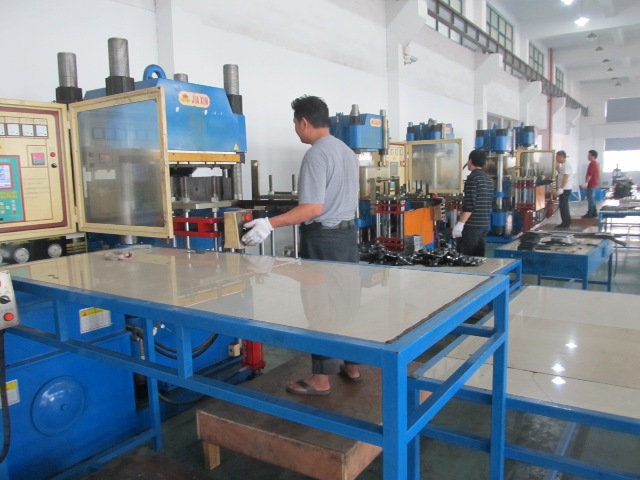 Rubber forming Process