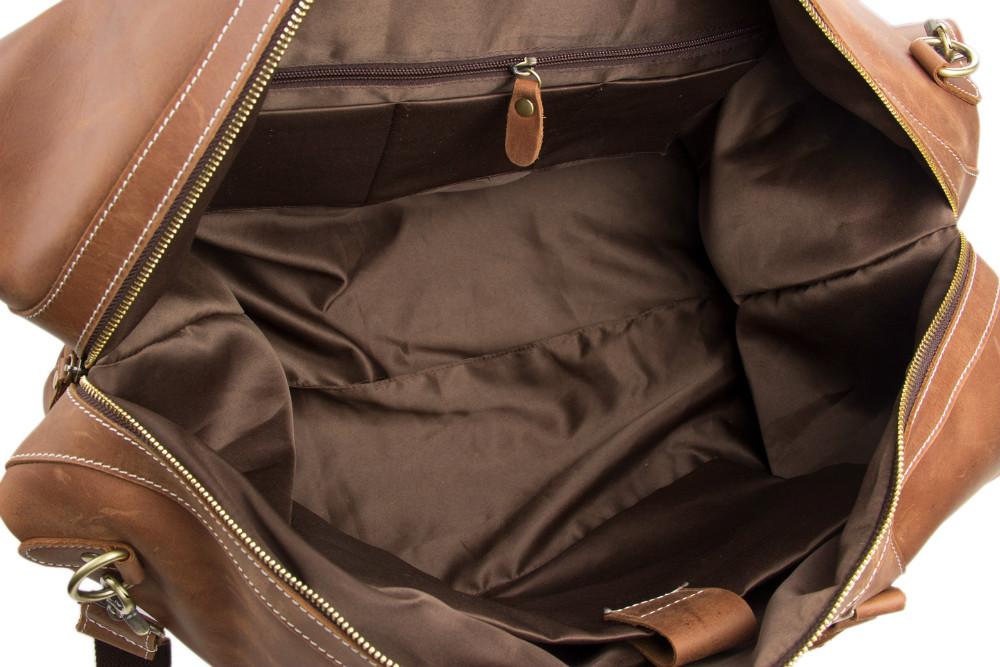 2016 Antique Custom Wholesale Top Grain Genuine Leather MensTravel Duffle Bag Holdall Luggage for Overnight Weekender   (12).jpg