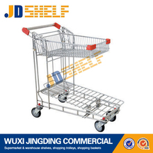 Top quality hot sale evergreat storage metal mesh trolley for warehouse