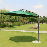 Wholesale price cantilever umbrella outdoor cantilever umbrella garden patio sun sunshade umbrella outdoor coffee bar factory