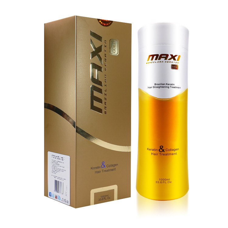 Maxi gold keratin hair treatment keratin hair straightening cream 1000ml buy maxi gold keratin - Salon straightening treatments ...