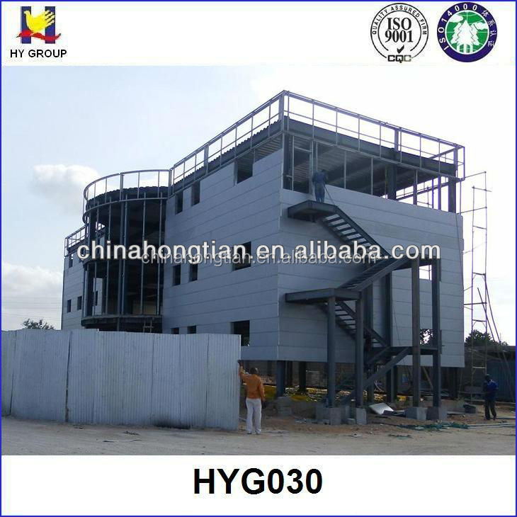 Prefabricated steel frame apartment building