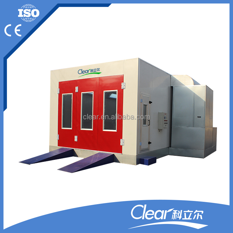 CE approved auto spray bake booth with high quality and low price