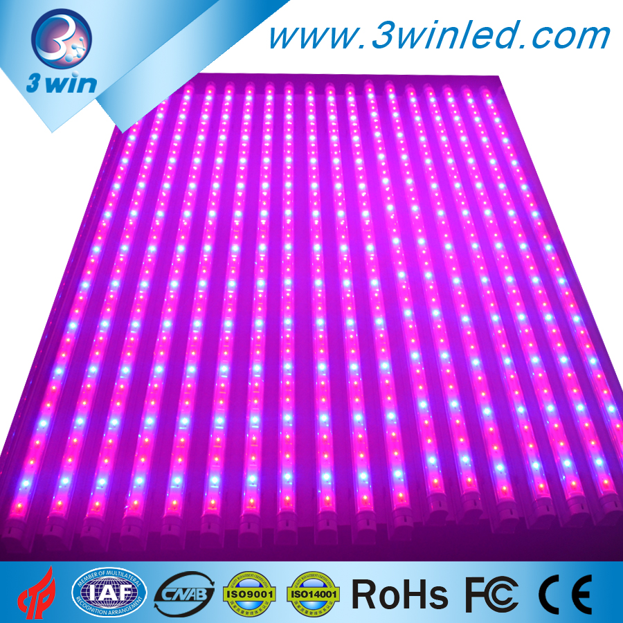 Super Power T8 LED Strip 730nm Far Red LED Grow Light Tube 36W with 1watt Epistar/Bridgelux for Tissue Culture, VEG Leaf