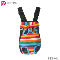 canvas dog carrier 4 color pet backpack