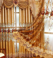 Fashion embroidery curtain