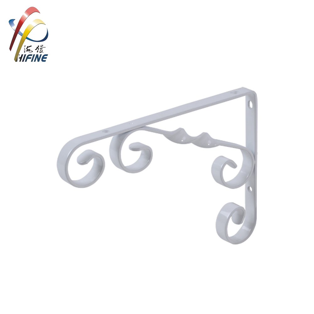 European style metal shelf bracket/wall shelf bracket