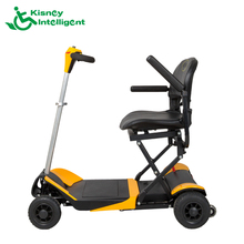 4 wheel folding fully enclosed remote control mobility scooter