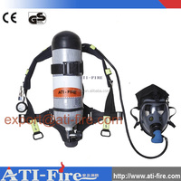Breathing apparatus,portable emergency air respirator