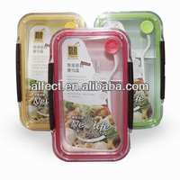 On sell microwavable plastic locked lunch box