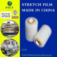 Pallet packing wrap plastic LLDPE stretch film on roll