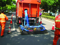 Freetech PM220 Asphalt Pavement Hot In Place Recycling Patching Vehicle