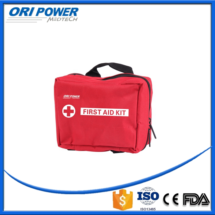 OP manufacture CE FDA ISO approved earthquake disaste survival emergency sport first aid kit bag