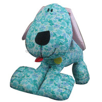 Printed cotton fabric puppy toys handmade dogs and puppies for sale animated toy dog