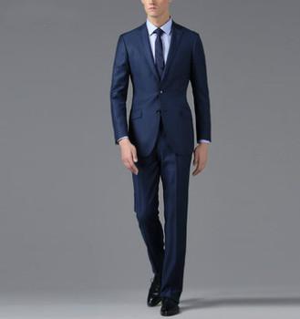 Men's slim fit suit, cotton suit, linen suit , wool suits(001 ...