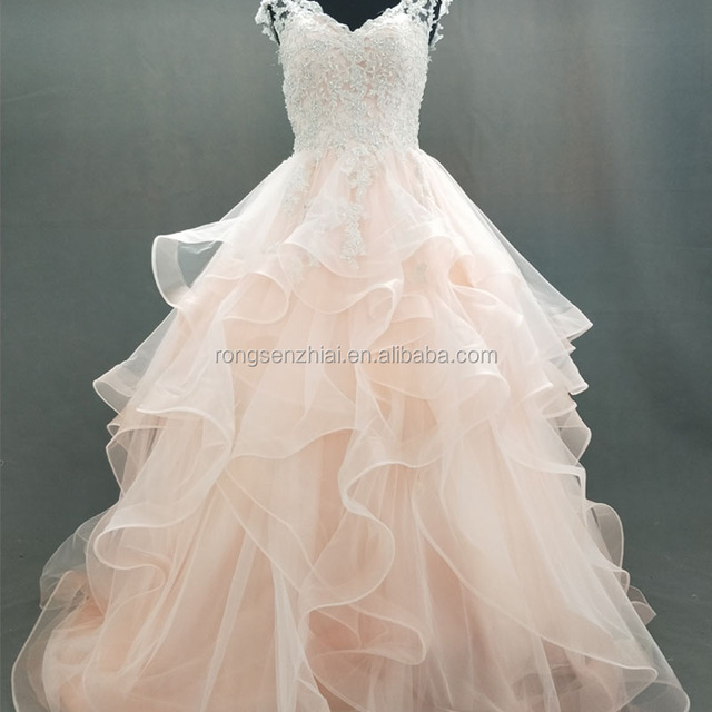 Ball Gown Roses Wedding Dressyuanwenjuncom