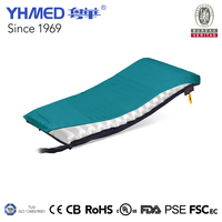 China factory portable coloful air nylon/cotton/pu inflatable mattress