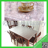 Thickness transparent PVC hotproof table mat cloth for home