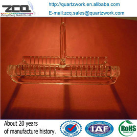 Wafer Carrier Quartz Boat