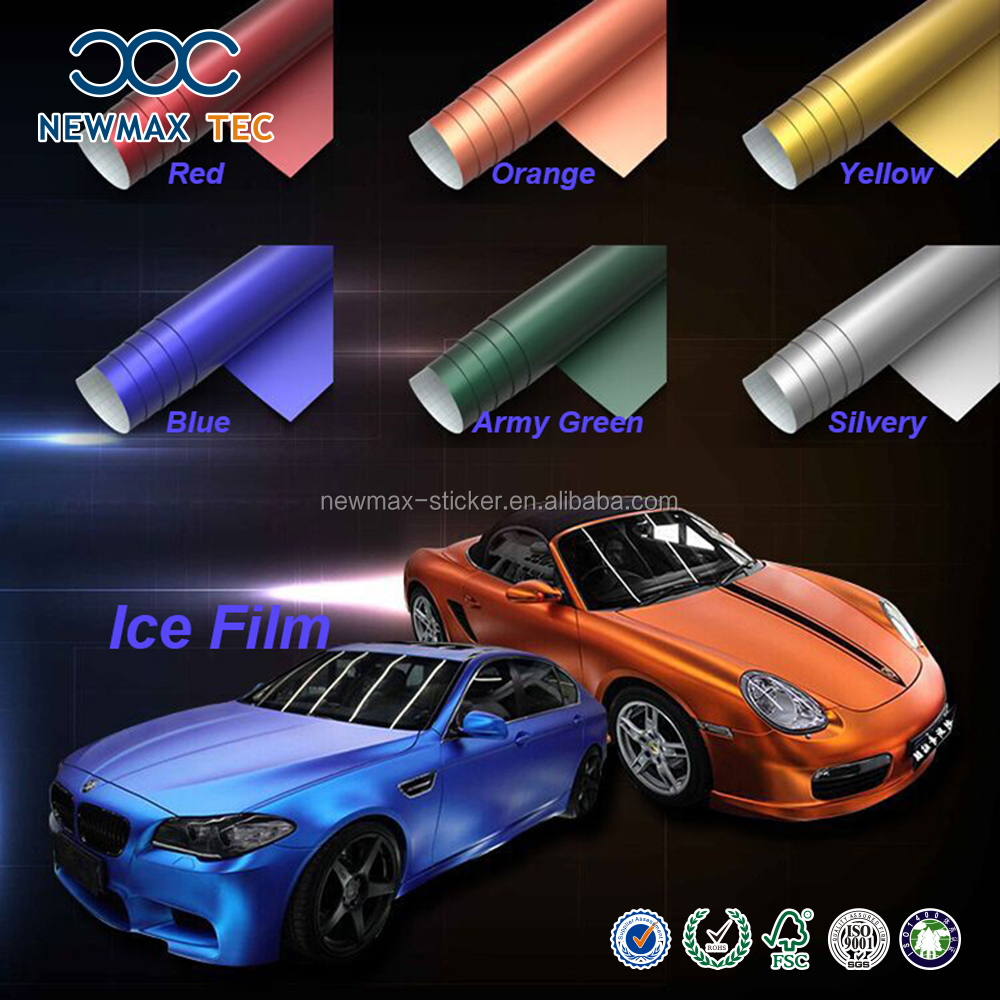 Full Car Body Changing Color Self Adhesive Vinyl Sticker Design