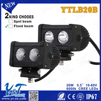 CE/ROHS/ISO9001/Waterproof IP68 One and a half year Warranty Straight 20W 32.5inch led 4x4 light bar reflector