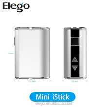 1050mAh Rechargeable Battery Mini e-Cig Mod iSmoka Eleaf Vape Mod iStick Mini 10w Vaporizer