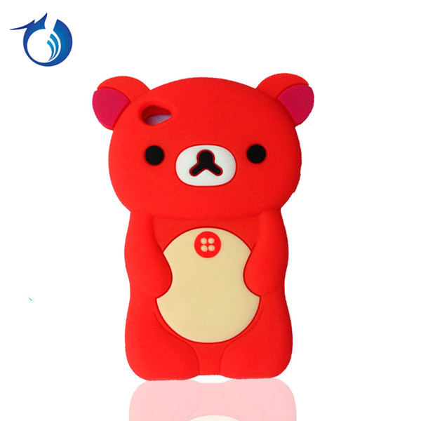 China Wholesale Cartoon Animal Silicon Soft Back Case For iPod Touch 4