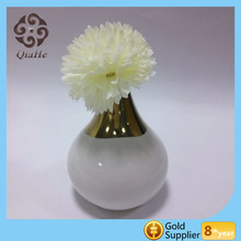 Electroplating vase modern style ceramic table mini vase