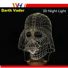 Best Gift Creative 3D Effect Table Lamp Bedside Lamp 3D Visual LED Night Light