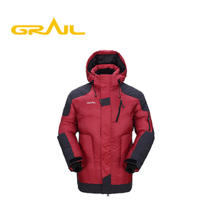 Wholesale windproof waterproof winter men's thick snow down clothing ski jacket