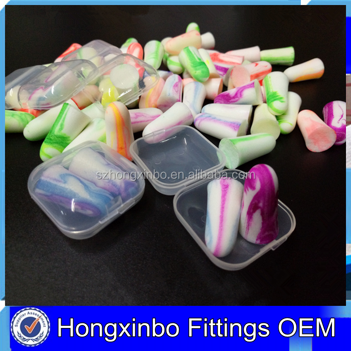 Hongxinbo OEM Small clear Plastic packaging box for earplug