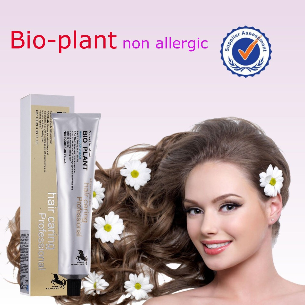 Hot new product for 2016 non allergic professional hair color cream
