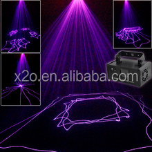 FDA certificate purple color Mini Laser beam Projector lights with scanner