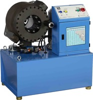 B51 crimping machine, wire stripping crimping machine, hose crimper machine