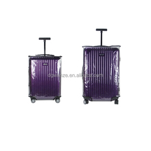 plastic clear PVC waterproof luggage cover