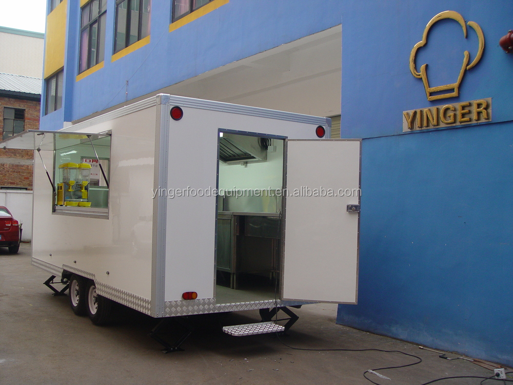 mobile china food kiosk catering trailers cart