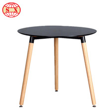 Houseware dining room furniture modern style round wooden dining table