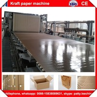 1880mm recycled brown kraft and cardboard paper making machine made in Henan